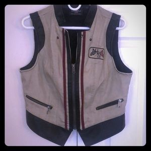 Genuine Harley-Davidson leather vest